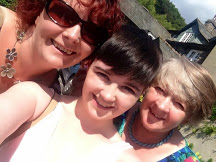 Myself, my daughter & my mother in that order, I know my mother just doesn't look old enough does she?